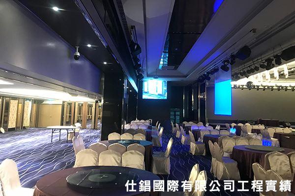 洲際棒球場好運來餐廳 燈光投影數位影像整合
