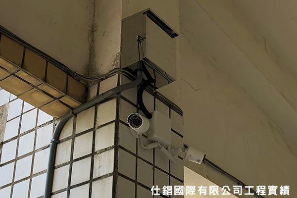 下營國小 監控系統監視器安裝