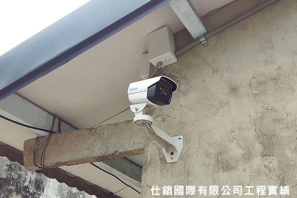 六甲住家 監控系統監視器安裝