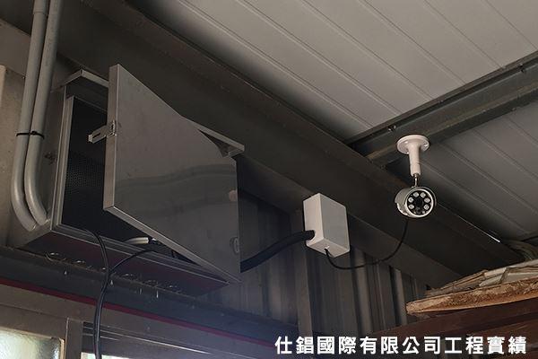 北勢里農舍 監控系統監視器安裝