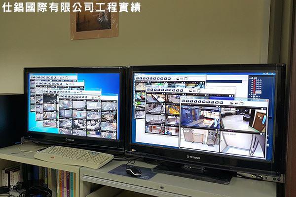 台安醫院 監控系統監視器安裝