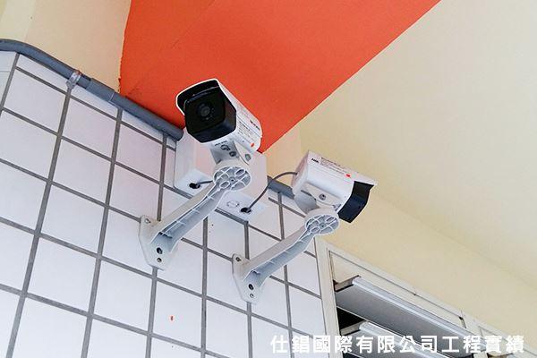 崑山國小 監控系統監視器安裝