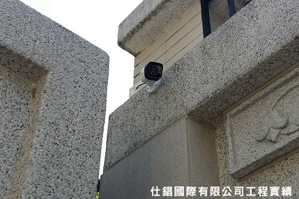 民生路住家 監控系統監視器安裝