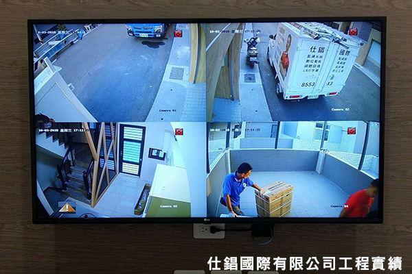 周武街住家 監控系統監視器安裝
