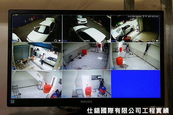 新營店面 監視系統安裝