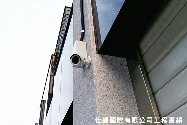 林小姐住家 監控系統監視器安裝