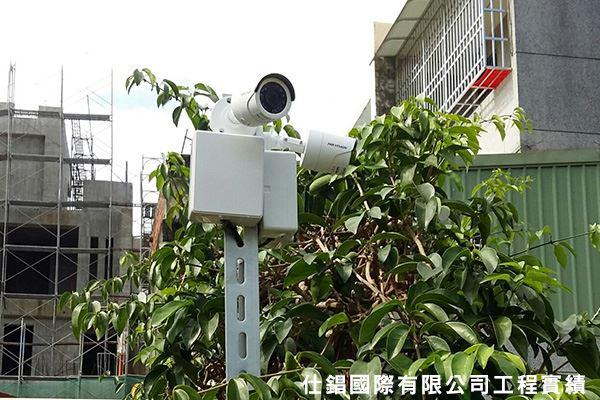 許小姐住家 監控系統監視器安裝